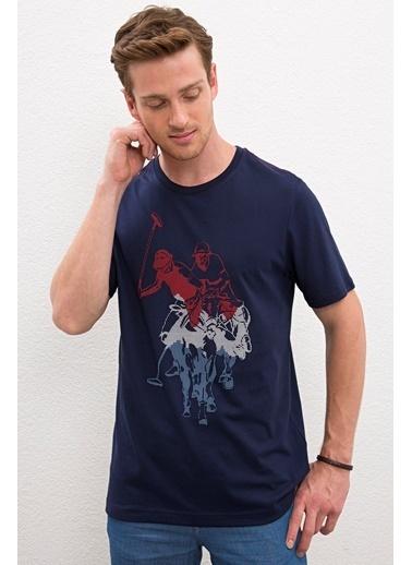 U.S. Polo Assn. U.s. Polo Assn. Erkek Tişört 984367-VR033 984367-VR033018 Lacivert